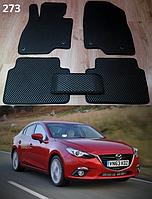Коврики на Mazda 3 '14-18. Автоковрики EVA, фото 1