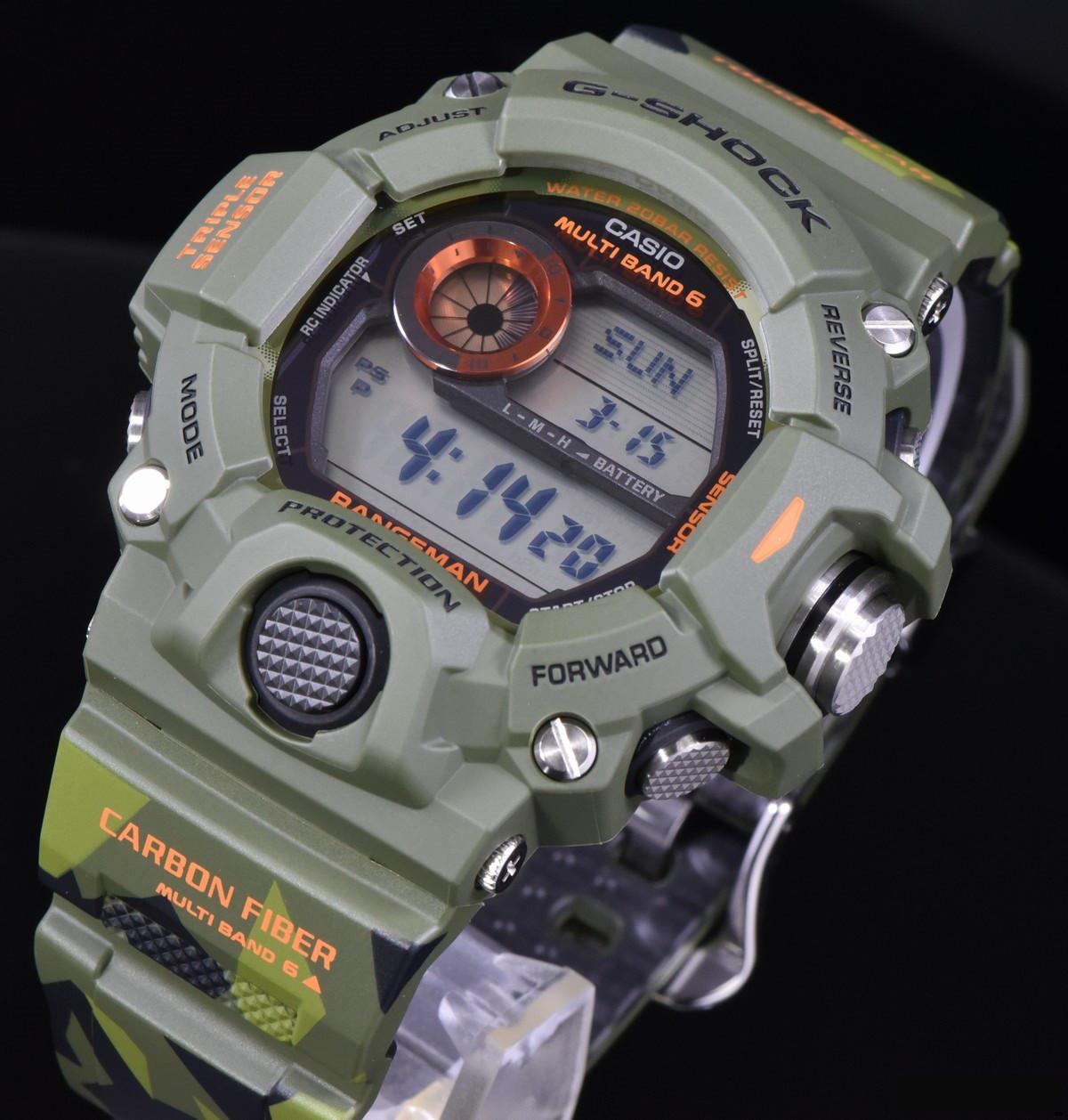 Часы Casio G-Shock GW-9400CMJ-3ER Rangeman В.