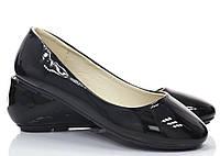 Женские балетки Demers black, фото 1