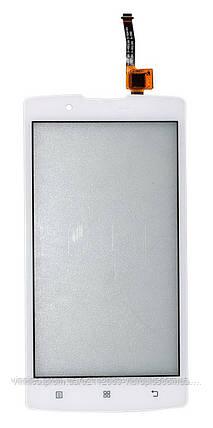 Тачскрин (сенсор) Lenovo A2010 ORIG, white (белый) TESTED, фото 2