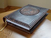 Магический дневник Древо Жизни, обложка для дневника в стиле Книга Теней, кожаная