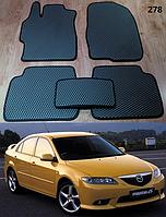Коврики на Mazda 6 GG '02-08. Автоковрики EVA, фото 1