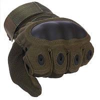 """Перчатки тактические с закрытыми пальцами и усиленным протектором  """"Oakley"""""""