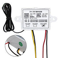 Терморегулятор для нагревательных устройств   XH-W3001