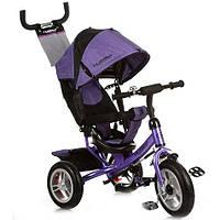 Детский 3-х колесный велосипед Turbo Trike M 3113-8А фиолетовый