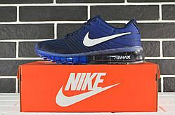 Модные синие кроссовки Nike Air Max 2017 Blue