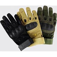 """Полнопалые  армейские перчатки  """"Oakley"""""""