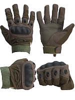 """Тактические перчатки из прочного и мягкого материала  """"Oakley"""""""
