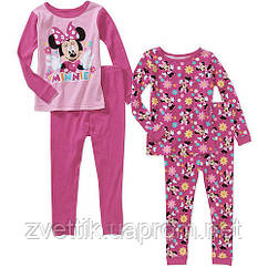 Пижамка Минни Маус  (Disney США) (Размер 2-3 года)