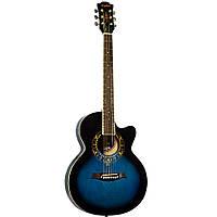 Акустическая гитара Equites  EQ600C/BLS 38''