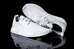 Белые стильные кроссовки Adidas NMD