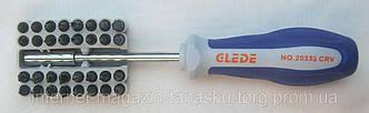 Профессиональная отвертка(32 насадки), Clede-20332
