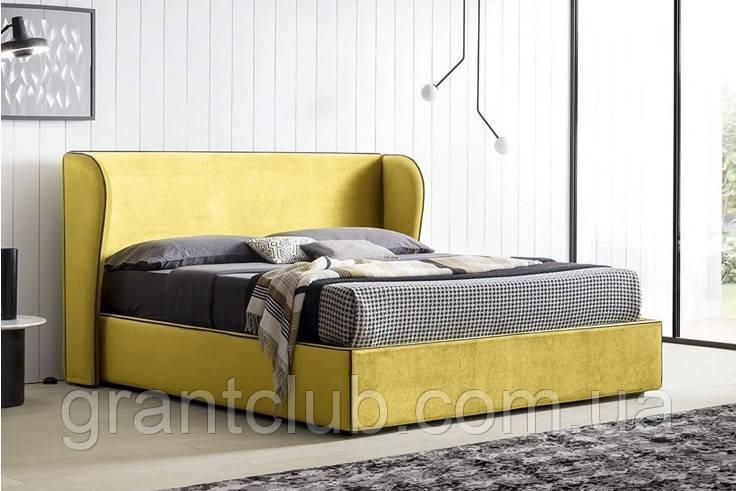 Итальянская дизайнерская кровать с ушками PARIS фабрика Felis