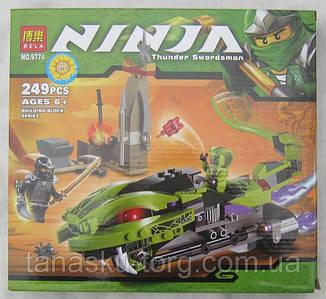 Конструктор Ninja 9774(249 предметов)