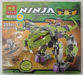 Конструктор Ninja 9755(255 предметов)