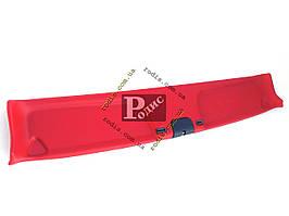 Накладка травмобезопасности (надлобник) ВАЗ 2101-2107 – Травмозащита ВАЗ 2101-2107 (красная)