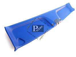 Накладка травмобезопасности (надлобник) ВАЗ 2101-2107 – Травмозащита ВАЗ 2101-2107 (синяя)
