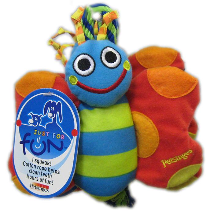 Petstages Butterfly/Turtle - Бабочка или Черепаха - игрушка для собак