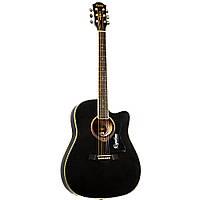 Акустическая гитара Equites EQ900 C/BK 41''