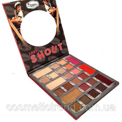 The Balm Last shout Eyeshadow Lipstick Lighter Палитра для макияжа 24 цвета , фото 2