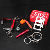 Набор для выживания SOS 6 предметов