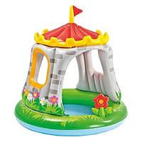 Детский надувной бассейн интекс  Королевский замок