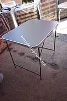 Стол складной туристический с чехлом  83х62 см