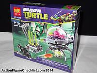 Конструктор Побег Крэнга из лаборатории Bela Ninja Turtles № 10206