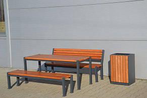 """Стол парковый """"Двойная линия"""", фото 2"""