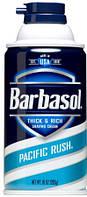 Пена для бритья Barbasol (Тихоокеанская свежесть) Pacific Rush  283 мл, фото 1