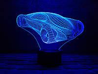 """Сменная пластина для 3D светильников """"Автомобиль 7"""" 3DTOYSLAMP, фото 1"""