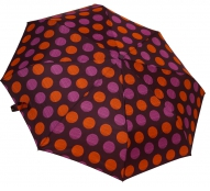 Женский складной зонт автомат (фиолетовый)