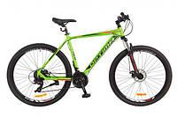 "Велосипед 29"" Optimabikes F-1 AM DD рама-21"" Al салатно-черно-оранжевый 2017"