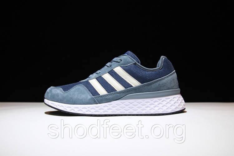 Мужские кроссовки Adidas ZX 450 Grey Blue