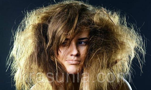 Что делать, если волосы сухие?
