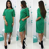 Платье, модель 700, цвет - зеленый, фото 1