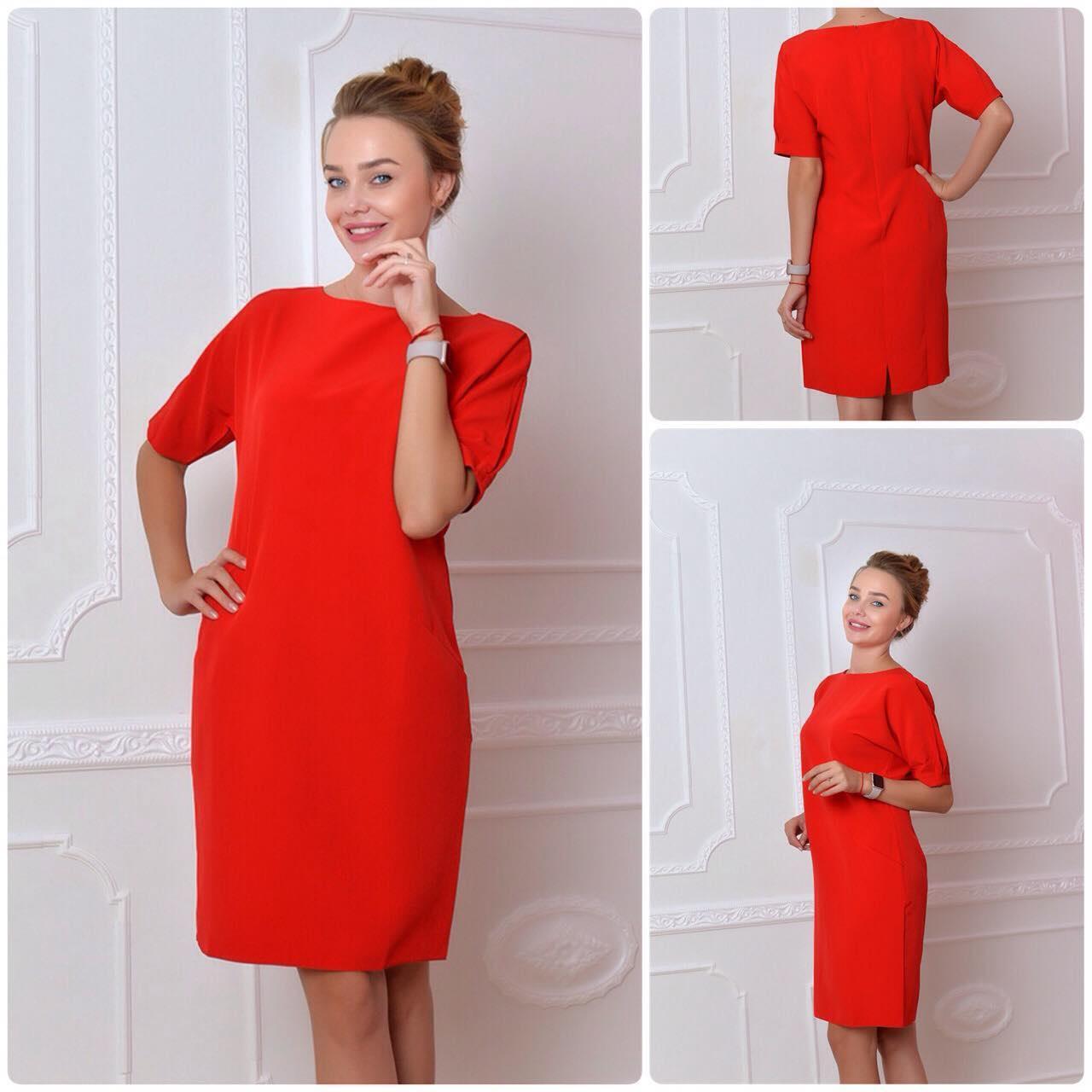 Платье, модель 700, цвет - красный