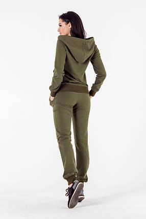 Спортивный костюм 386 хаки, фото 2