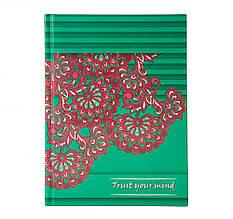 Ежедневник недатированный ETHNO, A5, 288 стр. Зеленый (BM.2166-04)