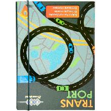 Папка для тетрадей Art Effect TRANSPORT, картонная, на резинках В5 + (175х240х25мм)