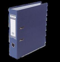 Регистратор Buromax односторонний рычажный механизм А4 70мм синий сборной (BM.3011-02c)