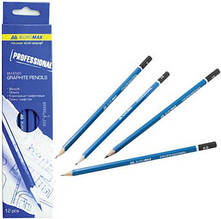 Набор карандашей Buromax для черчения 12 шт PROFESSIONAL (BM.8565)