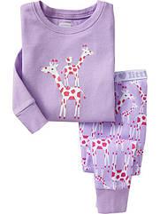Пижама Веселые жирафики    Old Navy (США) (Размер 5Т)