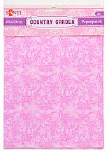 Бумага для декупажа, Country garden, 2 листа 40*60 см (952515)
