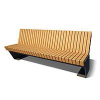 Деревянная скамья Massina-1