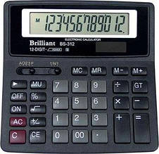 Калькулятор Brilliant BS-312 12 разрядов (BS-312)