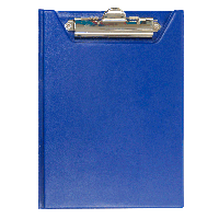 Клипборд-папка А5, PVC, т.-синий BM.3417-03
