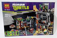 Конструктор Атака На Базу Черепашек Bela Ninja Turtles № 10210