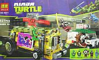 Конструктор Преследование на грузовике Черепашек Bela Ninja Turtles № 10211