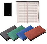 Книга алфавитная А5, 145х202мм, баладек зелёная
